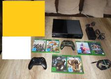 Microsoft Xbox One 500GB - Schwarz 2 Controllern und 6 TOP Spielen