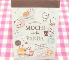 KAMIO JAPAN / Mochi Mochi Panda Happy Day Mini Memo Pad / Japanese Stationery