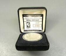 Kobe Bryant Silver Coin Highland Mint 1 Troy Oz 999 Fine Silver 2102 of 3000