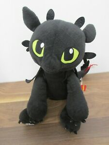 Build a Bear Workshop How to Train Your Dragon Toothless Plush Soft Toy 2014
