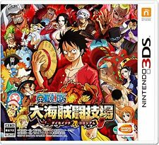 Nintendo 3DS One Piece Dai Kaizoku Colosseum Brand New