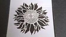 Acodo plantilla álbum de recortes de Girasol decorativo de Grabación en Relieve Decoración del hogar