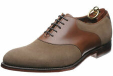 Loake Suede Lace-up Round Toe Shoes for Men