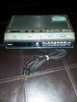 Vintage 80s GE General Electric 7-4642 Electronical Digital Clock Radio AM FM