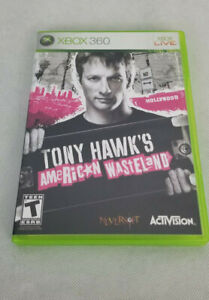 Xbox 360 Tony Hawk's American Wasteland Complete Video Game With Manual