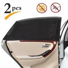 Uarter Universal Car Rear Side Window Baby Kid Pet Breathable Sun Shade Black