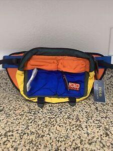 Polo Ralph Lauren Sport Bum Cross Body Waist Bag Color Fanny Pack Hi Tech CP 93