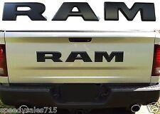 "OEM MOPAR DODGE RAM REBEL TAILGATE ""RAM"" EMBLEM LETTERS BLACK NEW FREE SHIPPING"