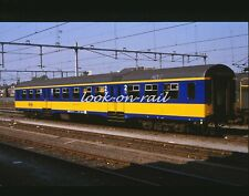 e126 - Dia slide 35mm original Eisenbahn Holland, NS personenwagen, '80s