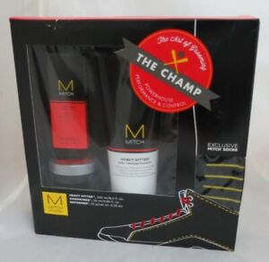 Paul Mitchell The Champ Gift Set - Heavy Hitter, Hard  Wired , Reformer