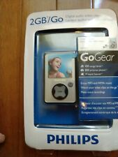 PHILIPS 2GB GOGEAR DIGITAL AUDIO VIDEO PLAYER -NEW - SA3021/37 Sealed