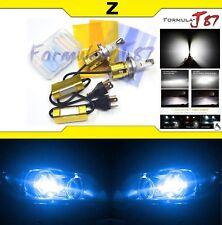 LED Kit Z 96W 9003 HB2 H4 10000K Blue Head Light Two Bulbs Upgrade Dual Beam OE