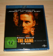 Blu-Ray Film - The Game - Michael Douglas - Sean Penn - Thriller - Neu OVP
