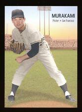 Japanese Baseball Masanori Murakami 2014  Advertising Card