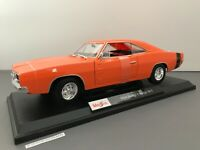 Maisto 1969 Dodge Charger R/T 2020 New Release Special Edition Orange #31387