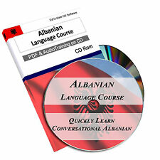 170 Albanian Language Learn Speak Course Easy Home Learning Study Audio Mp3 CD