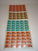 4 Briefmarken Bögen Michel 2898-2901 DDR 35 Jahre DDR 1984 gestempelt  (135)