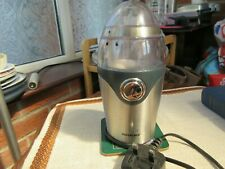 Silvercrest Electric Coffee Grinder Silver Stainless Steel