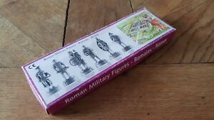 Box 6 Figurines Metal « Military Roman » IN Very Good Condition