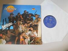 LP Pop La Bionda - Bandido (8 Song) HISPAVOX ESPANA