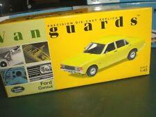 Vanguards 05502 - Ford Consul 1972 Daytona Yellow - 1:43 Made in China