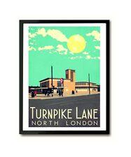 Turnpike Lane North London Art Print (Harringay)