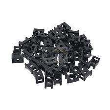 Atadura de cables de silla de montaje-Nylon Negro Base Montura Pk 50-Hasta 8 Mm Cable De Lazos