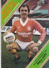 Blackpool v Hull City 1982 / 83  Division 4 - December 4th