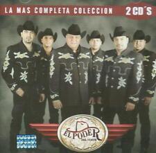 El Poder Del Norte CD NEW Mas Completa Coleccion SET Con 2 CD's 30 Canciones !