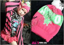 American Lolita Viva La vida loca WC bears snowman  tuque ski Hat JN6175 P
