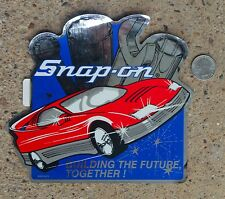 Vintage Snap On Tools Building Th Future Vinyl Decal Sticker Racing Mechanic Box