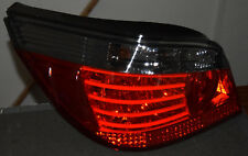 LED Rückleuchten Heckleuchten Set mit lightstripes für BMW E60 in rot/smoke