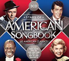 STARS OF AMERICAN SONGBOOK (FRANK SINATRA, DEAN MARTIN, DORIS DAY,) 3 CD NEU