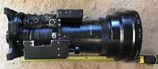 Angenieux TV Studio Zoom Lens Type 25x10 D F.10-250mm 1:1.4 Ikegami + Wide Angle
