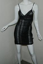 Women DKNY Black Nude Intimate Babydoll Size S