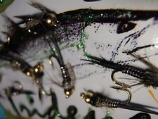 Irideus steelhead flies Zebra Nymph Wired Custom Nymph Trout Fly Fishing  Bead