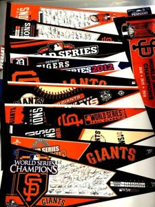 U PICK 2000-2014 SF Giants San Francisco Champs Pennant 12x30 ~.99 Ship 2nd item