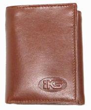 High Quality Italian Leather Men's Wallet Bi-fold, Trifold Black, Brown, Cognac
