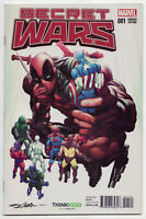SECRET WARS #1 Neal Adams ThinkGeek Deadpool Variant NM