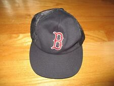 Vintage McDonald's Label BOSTON RED SOX (Adjustable Snap Back) Mesh Cap