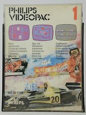 Philips Videopac Game / jeu - N° 1 - Race - Complete with Box