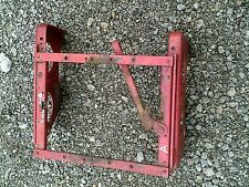 Farmall A Tractor Original IH seat mounting brackets & serial number tag