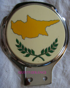 BADGE DE CALANDRE - CAR BADGE ILE DE CHYPRE