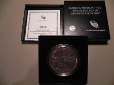 2010-P NP4 GRAND CANYON AMERICA THE BEAUTIFUL 5oz SILVER COIN
