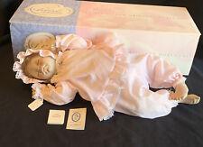 Lloyd & Lee Middleton Original Doll First Moment Asleep Newborn Baby Signed 7097