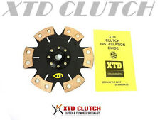XTD STAGE 4 RIGID CLUTCH DISC Fits SILVIA S13 S14 S15 240SX w/ SR20DET SWAP