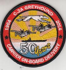 VRC-40 CARRIER ON BOARD DELIVERY SHOULDER PATCH
