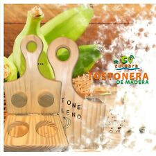 New listing Puerto Rico Tostonera, Doble Toston Relleno Plantain Press Handmaid
