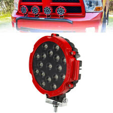 Round 7inch 170W LED Work Light Bar Spot Fog ATV 4WD Truck Off Road Lamp 12V