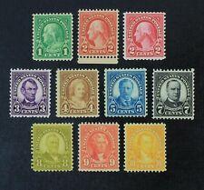 Ckstamps: Us Stamps Collection Scott#632/642 Mint Nh Og